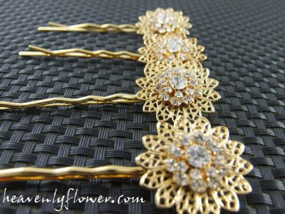 Jewelry Inspired: Fun With Swarovski Filligree Flowers