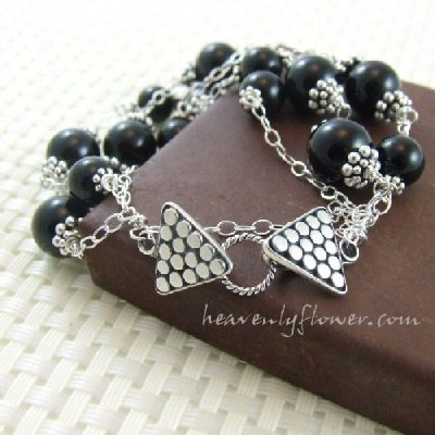 Clasp-o-phobia: Getting over my fears ~ a review of Bali Silver Clasps.