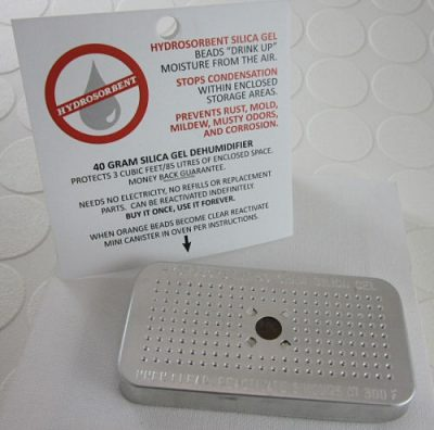 Cool Tool: Silica Gel Dehumidifiers