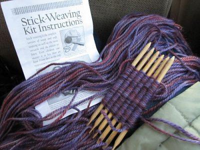 Stick Weaving