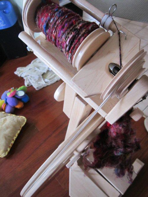 Spun Recycled Silk
