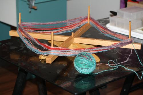 Fantastic Handcrafted Yarn Swift