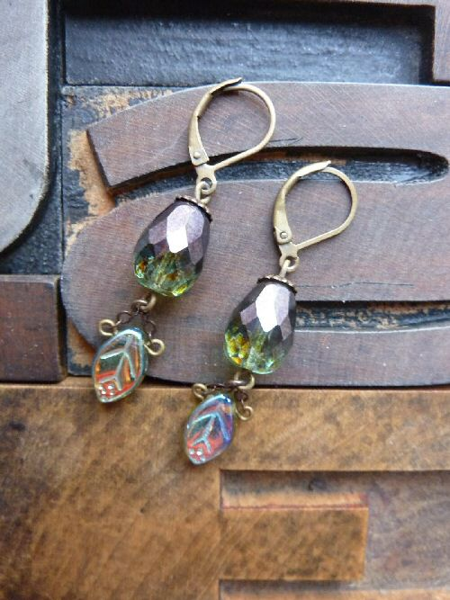 Green Apple of My Eye Earrings
