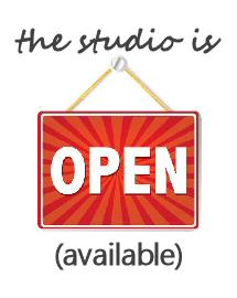 The Studio is Officially Open for 2014 but…
