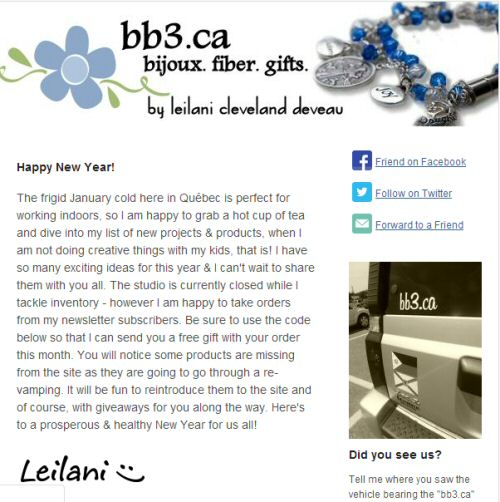 January 2014 Newsletter – Archive