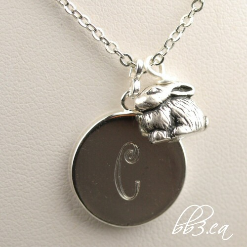March Giveaway: A Personalized Bunny Necklace