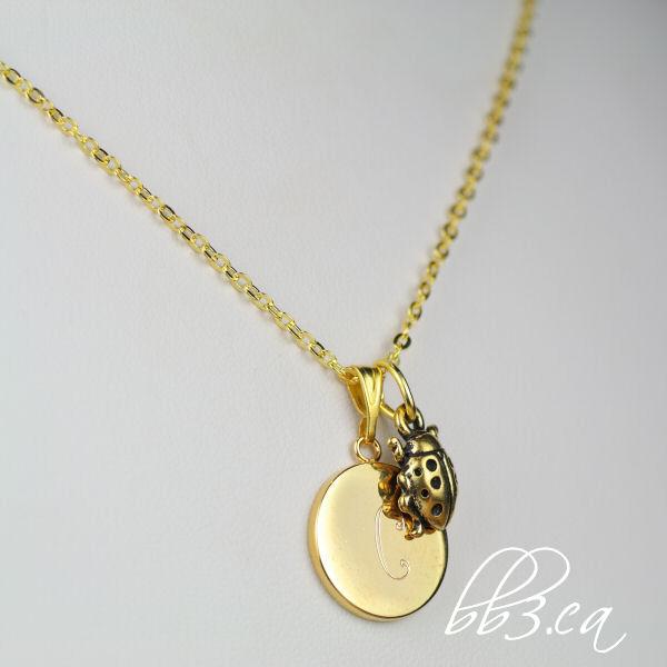ladybird necklace