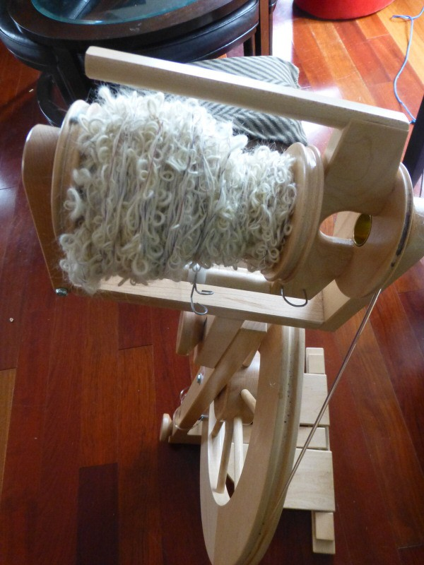 Spinning Bouclé Textured Yarn