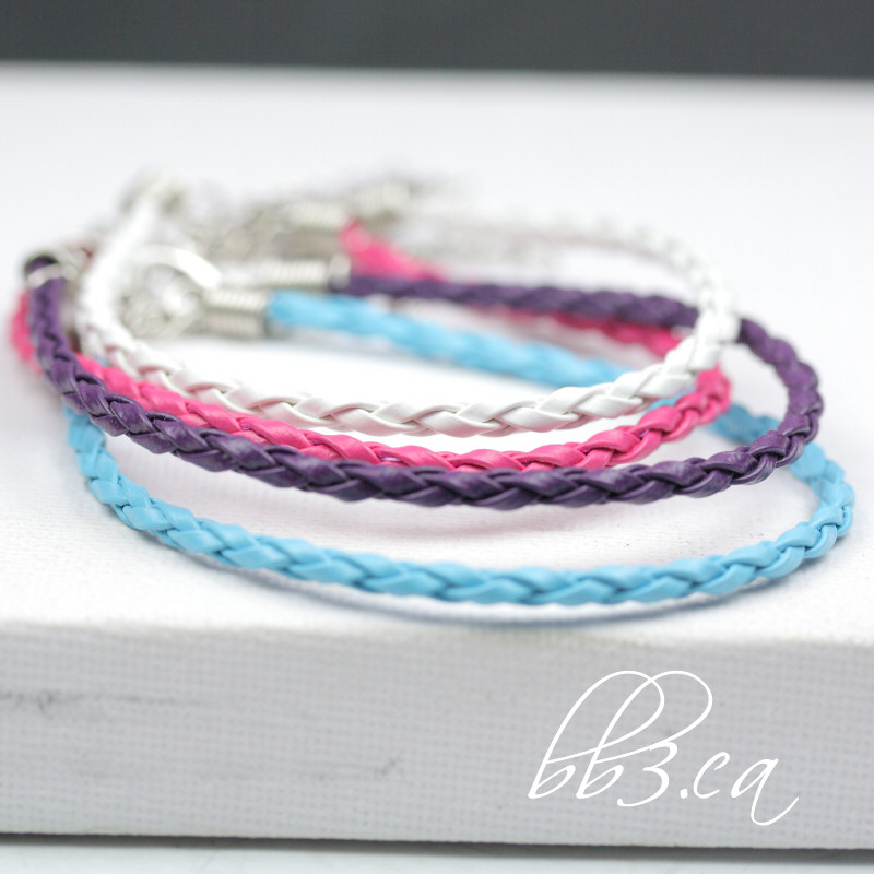 New Cord Bracelets in 5 different Colors bb3.ca