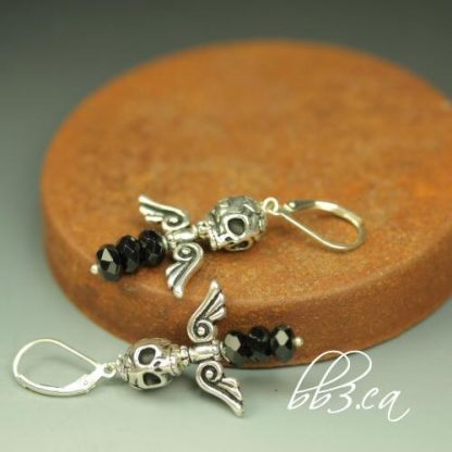 EARRINGS - Dark Angel Onyx
