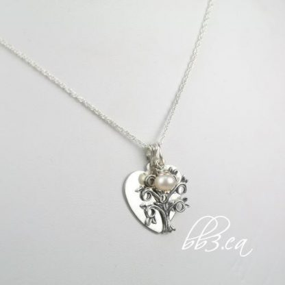 Family Tree Sterling Silver Necklace