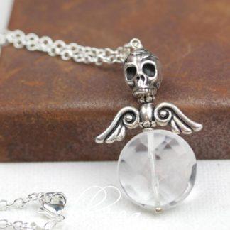 Dark Angel Quartz Necklace