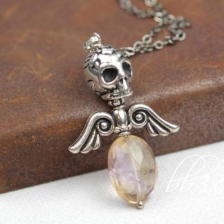 Dark Angel Ametrine Necklace