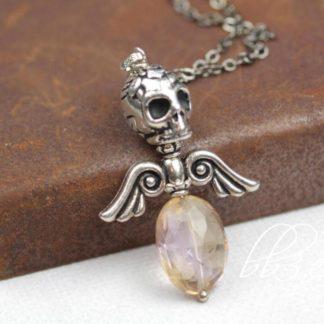 Dark Angel Ametrine Necklace