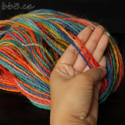 Handspun Yarn - Box of Crayons