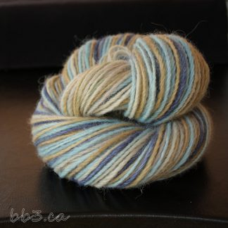 Handspun Yarn - 3-ply Alpaca - Beach House