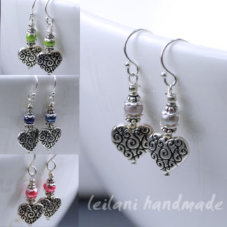 sweetheart earrings made to order
