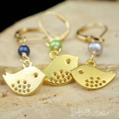 Stitch Markers: Slip on or Clip On - Bird