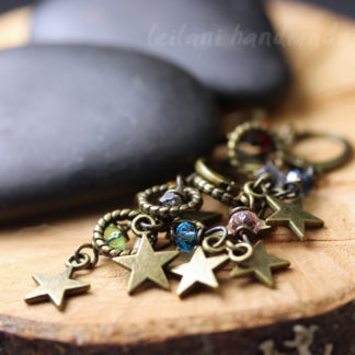 set of 8 stitch markers star charms