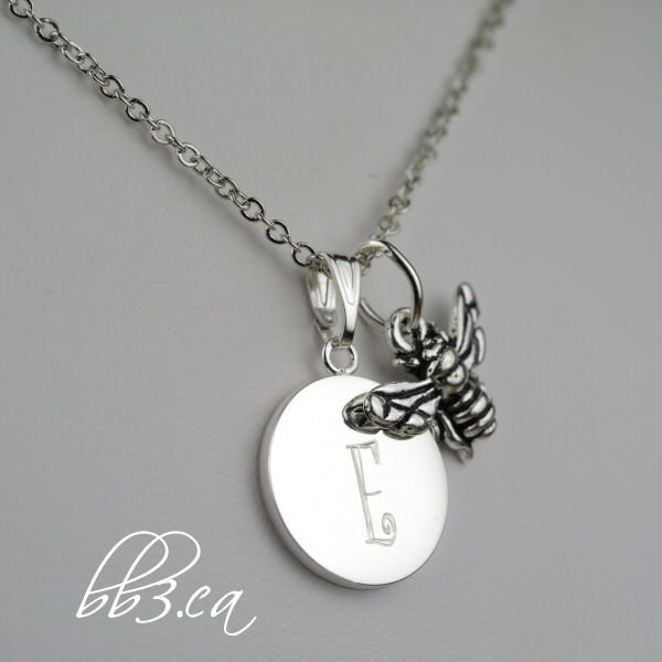 save the bees personalized necklace gift by leilani deveau