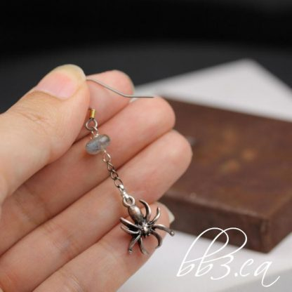 Spider Dangle Earrings