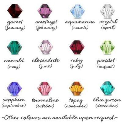 BRIDGET Earrings - Swarovski Crystal Dangles Choose Color