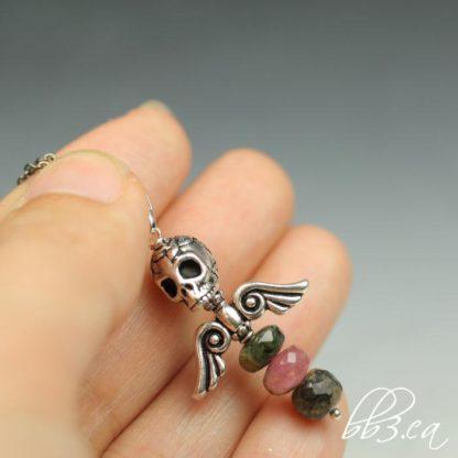 Dark Angel Necklace Tourmaline