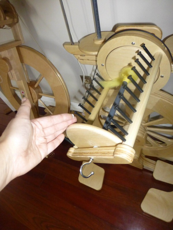 the largest bobbin on the Mach III
