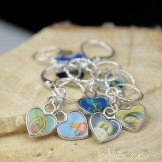 Catholic Art Stitch Markers Set of 8