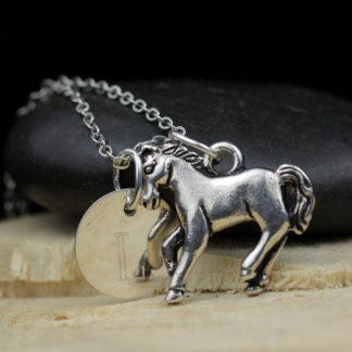 Horse Keepsake Necklace Sterling Silver