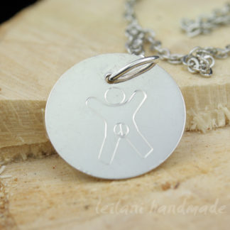 manually engraved international child for genital autonomy charm sgterling silver