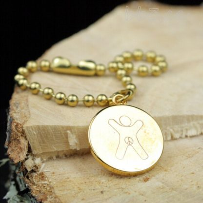 Bulk Discount Gold International Child Symbol Keychain Bag Charm