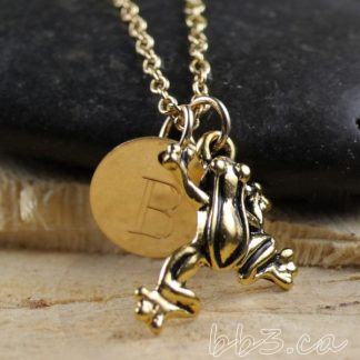 Keepsake Necklace - Frog - Gold Filled