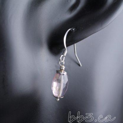 Faceted Ametrine Earrings Gemstone