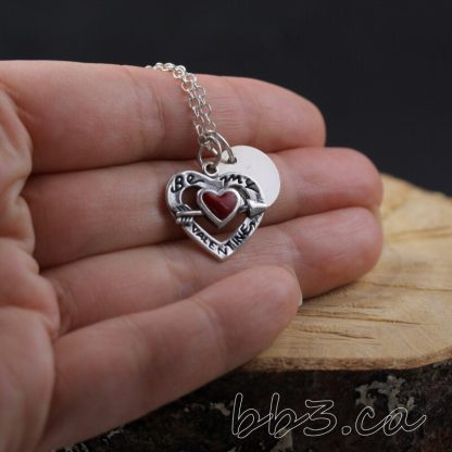 Be My Valentine Sterling Silver Necklace