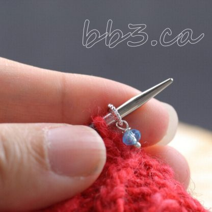 Teeny Tiny Stitch Markers Knitting Bling