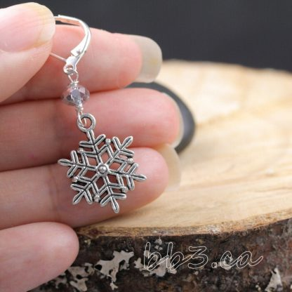 Stitch Markers Knitting Bling: Snowflakes Let it Snow Assorted