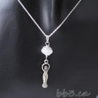 Goddess Necklace with Moonstone