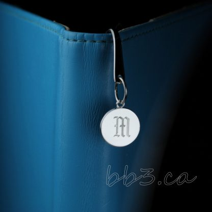 Old English Personalized Letter Bookmark