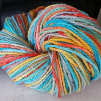 Handspun Yarn - Jolly Rancher