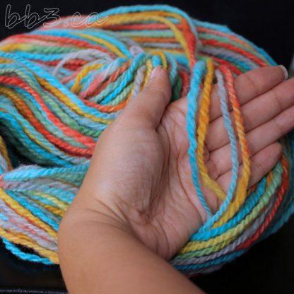 Handspun Yarn - Jolly Rancher