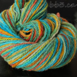Handspun Yarn - Journey to a Mermaid's abode