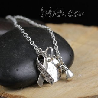 Puzzle Piece Necklace Sterling Silver
