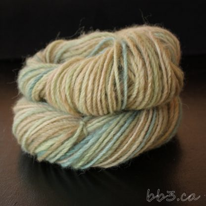 Handspun Yarn - 3-ply Alpaca - Beachy Neutrals