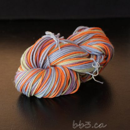 Hand Dyed Cotton Silk Combination Yarn