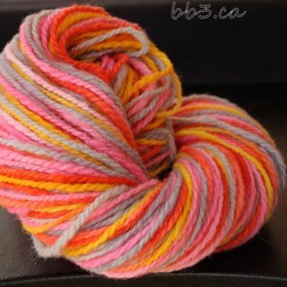 Handspun Yarn - Shirley Temple