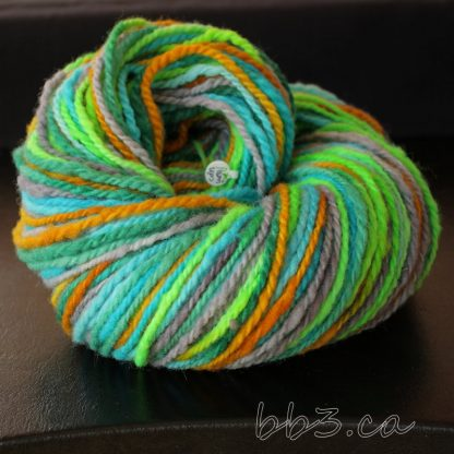 Handspun Yarn - Glo Fish