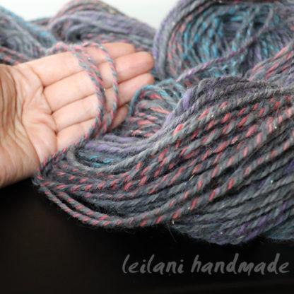 3 ply handspun alpaca soft greys