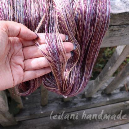 handspun tussah silk yarn