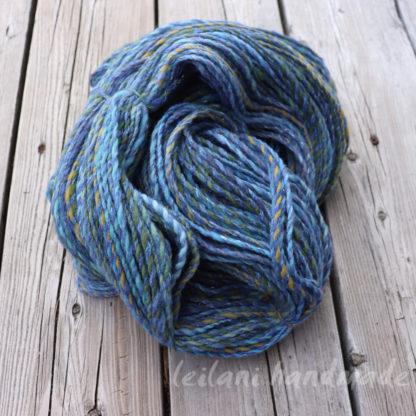 soft hues handspun yarn 3 ply crepe yarn